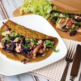Low Carb Flax Tortillas