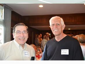 Photo: Larry Orwig and Gene Hikel