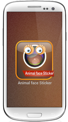 Animal face Sticker