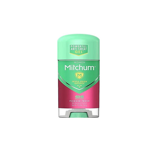 desodorante gel mitchum women powder fresh