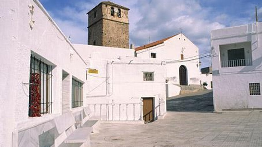 Vista de una calle de Turrillas en una imagen de Turismo Andalucía.