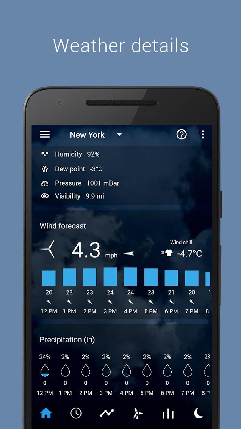 Transparent clock weather Pro Screenshot 4