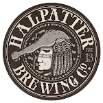 Logo for Halpatter Brewing Company