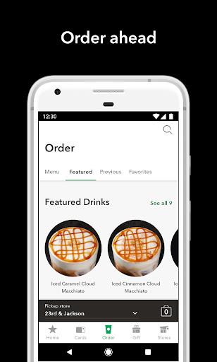 Starbucks screenshot 3