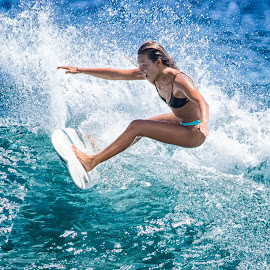 by Kelley Hurwitz Ahr - Sports & Fitness Surfing ( surf )