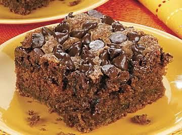 Chocolate Chip Zucchini Cake