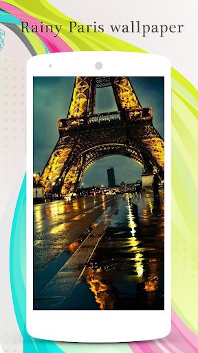 Rainy Paris Wallpaper