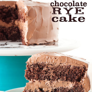 Malted Chocolate Rye Cake Recipe