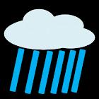 Rain alert icon