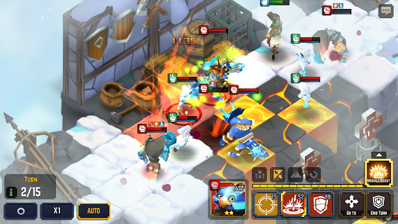 Legacy Quest: Rise of Heroes screenshot