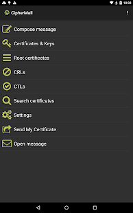 Ciphermail Email Encryption Android Apps On Google Play