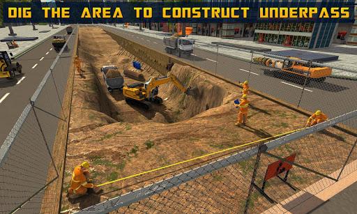 Mega City Underpass Construction: Bridge Building ss1