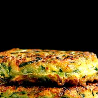 Zucchini Fritters (Eggless)