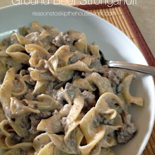 Ground Beef Egg Noodles Mushroom Soup Recipes
