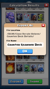 Counter Deck Calculator for CR screenshot 5