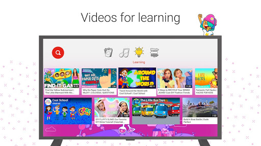 YouTube Kids for Android TV 1.05.03 screenshots 2