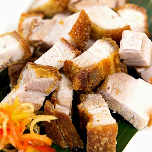 Crispy Pork Belly Rice Combo