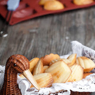 Madeleine Recipe with Orange blossom water - How to make Madeleines.