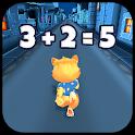 Toon Math: Endless Run and Math Games icon