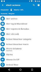 MacroDroid Pro – Automatización 3