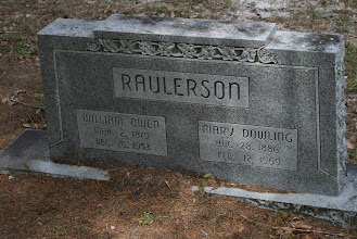 Photo: William Owen Raulerson son of John Milledge Raulerson and Serena Catherine Yarbrough and Wife Mary Dowling