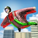 Skydiving  Wingsuit  City  Jumper  Sky icon
