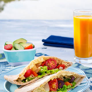 Vegan Greek Pitas.