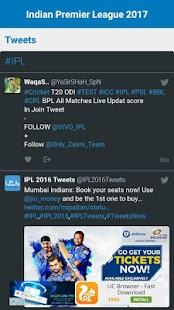 I.P.L.T20 World Cricket 2018 LIVE Score & Schedule - náhled