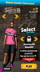 Urban Soccer Challenge v1.07 (Mod Money/Unlocked)