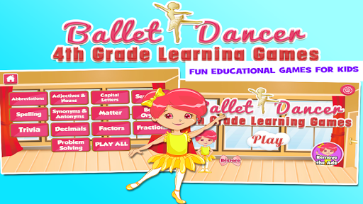 Ballerina 4th Grade Games