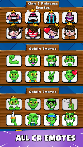 Emotes for Clash Royale 1.0.1 screenshots 1