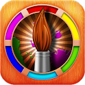 Sketch Drawing Paint Color icon