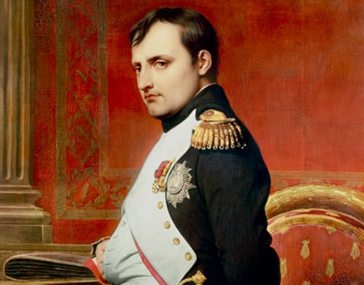 Napoleão Bonaparte. Imagem: Paul Delaroche.