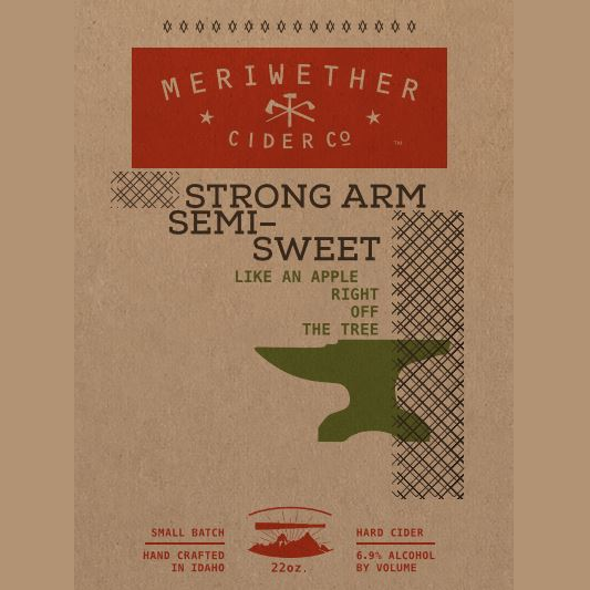 Logo of Meriwether Strong Arm Semi-Sweet