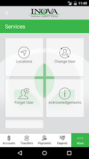INOVA FCU Mobile screenshot