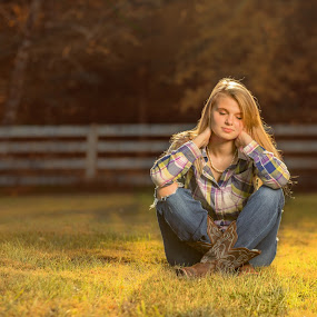 Sunshine down on me by Melanie Ayers Wells-Photography - People Portraits of Women ( senior portrait, female, teen, outdoor, teenager )