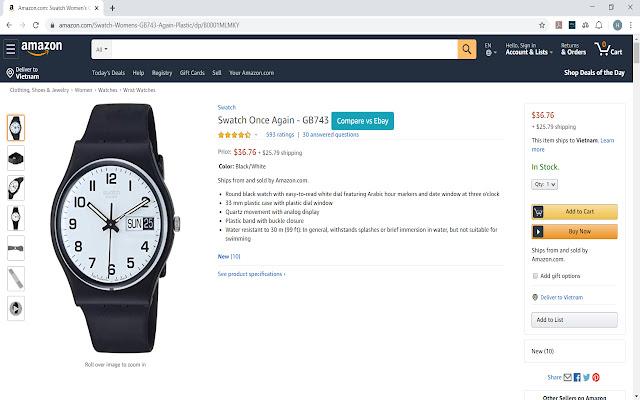 Amazon - Ebay Price Reference
