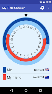 My Time Checker Screenshot