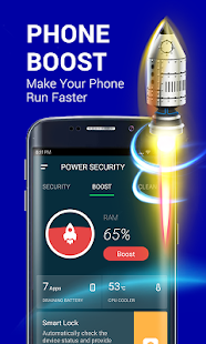 Power Security-Anti Virus, Phone Cleaner & Booster Screenshot