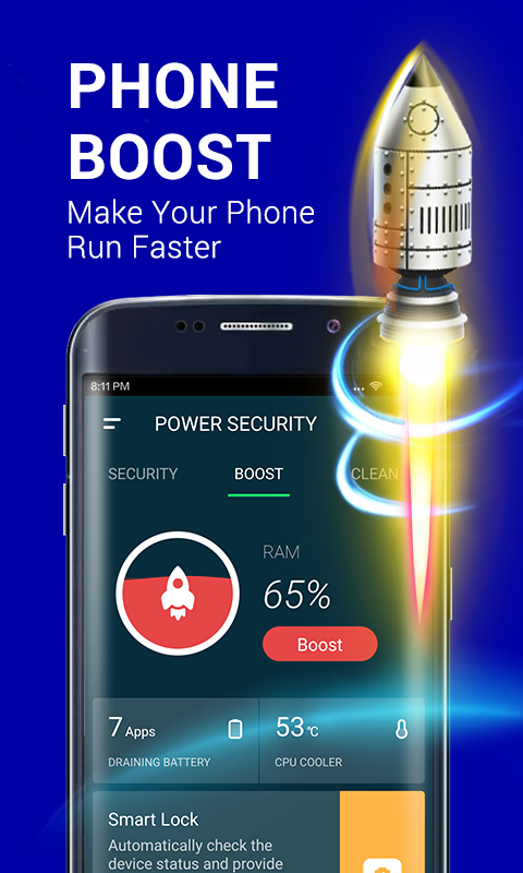 Power Security-Anti Virus, Phone Cleaner & Booster - Android