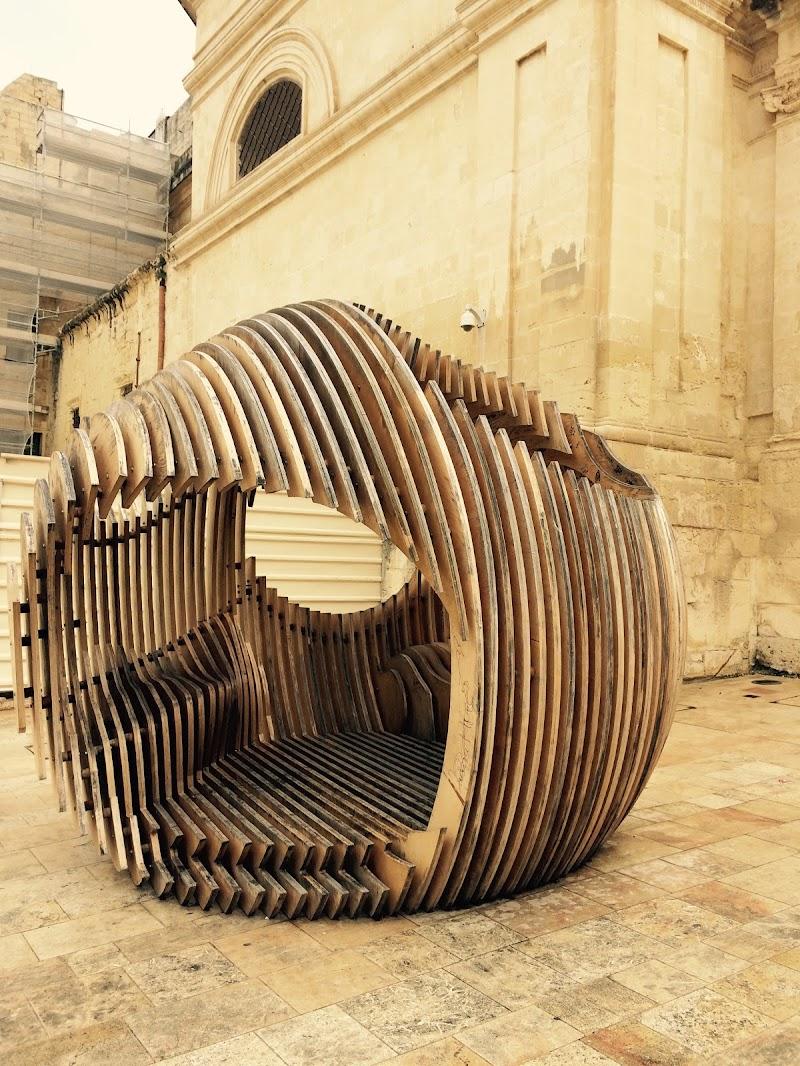 in una bolla di legno di Francesca Maifredi ©