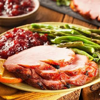 Best Crock-Pot Ham Recipe with Beer and Chutney Glaze Recipe
