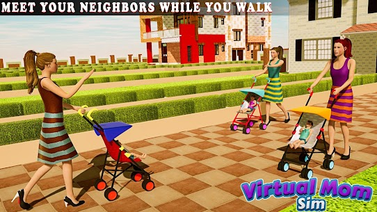 New Virtual Mom Happy Family 2020:Mother Simulator  Apk Download For Android and Iphone 4