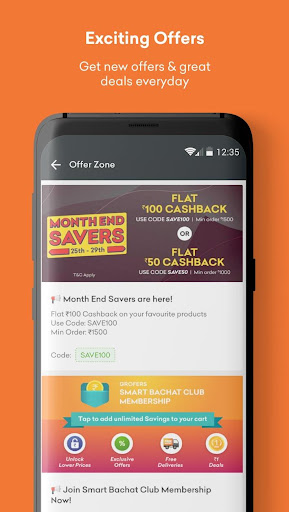 Grofers-grocery delivered safely with SuperSavings 5.5.54 screenshots 6