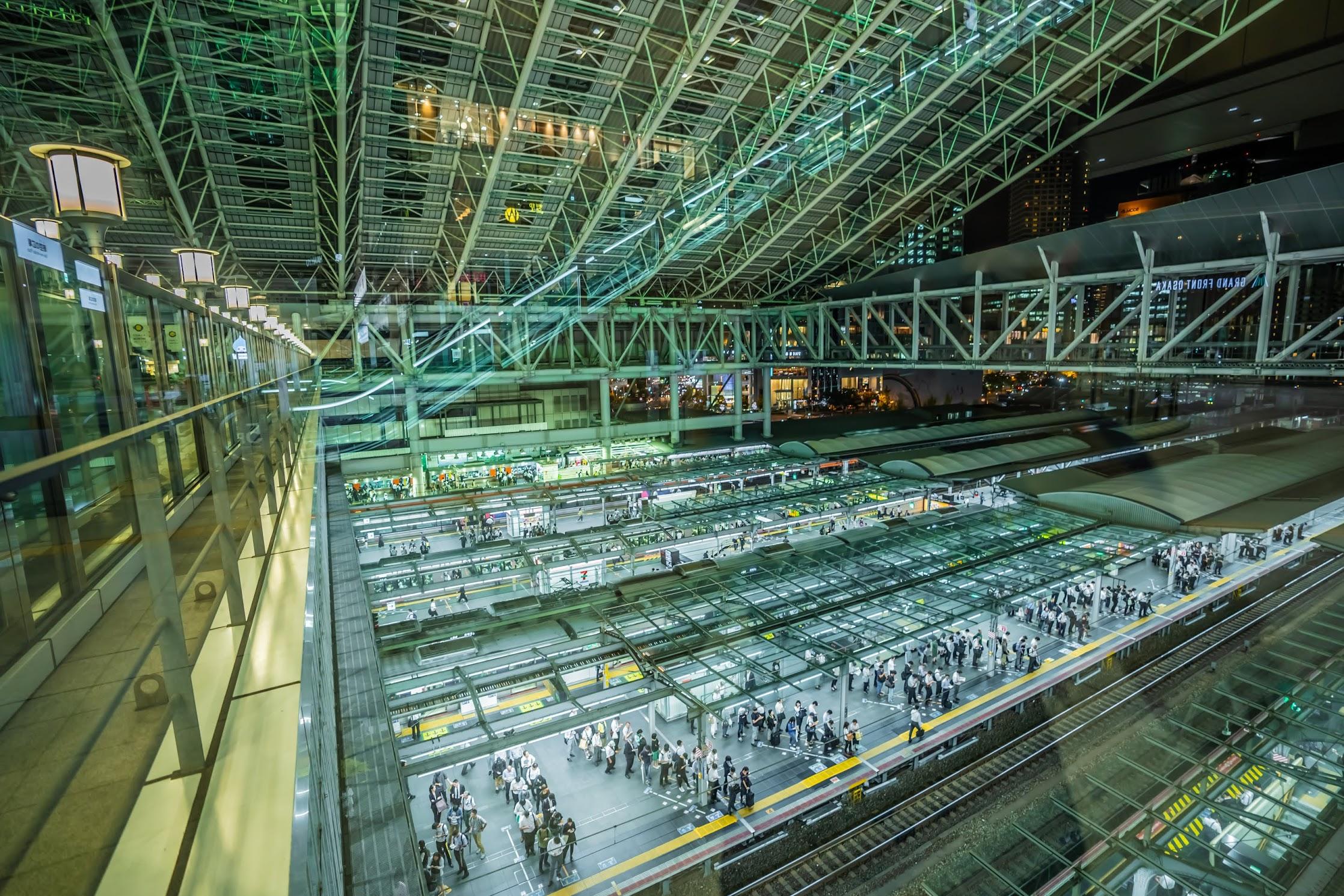 大阪駅 ホーム1