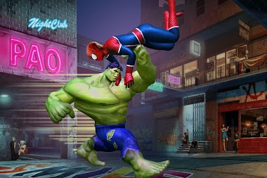 Superhero Legends War : Fighting Injustice Game APK screenshot thumbnail 3