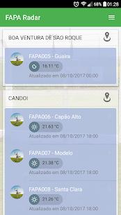 FAPA Radar - náhled