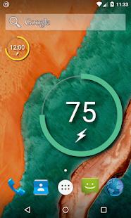 Battery Widget Reborn (Zdarma) - náhled