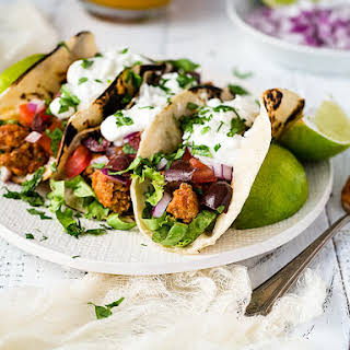 Healthy Ground Turkey Tacos.