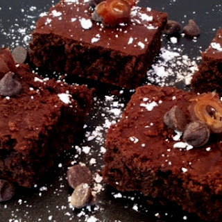 Vegan Chocolatey Brownies Made with Aquafaba